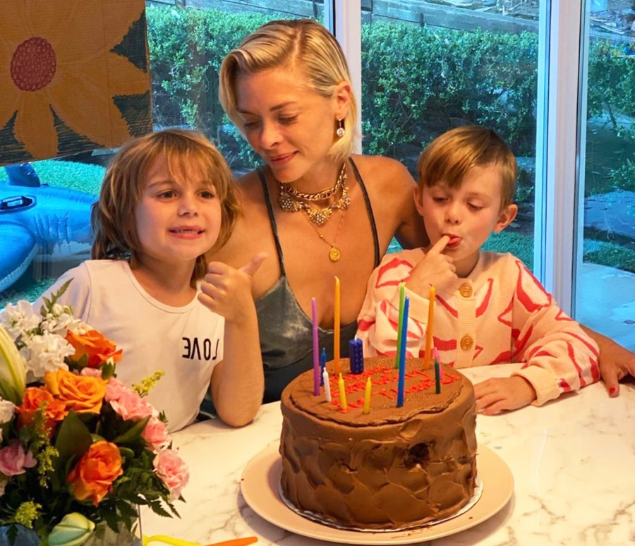Jaime King Tags Estranged Husband Kyle Newman in Sons Birthday Post