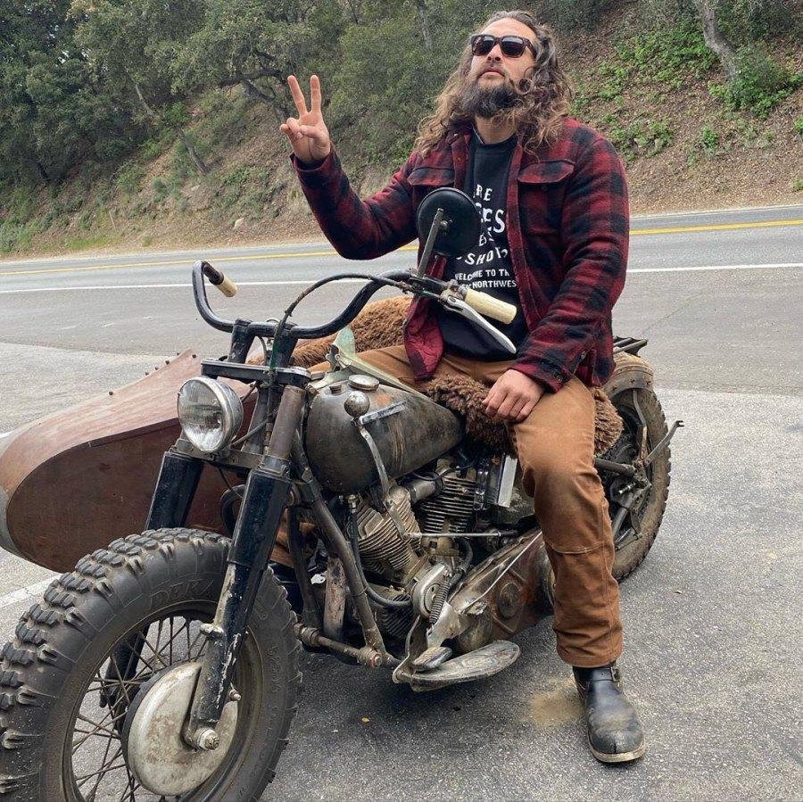 Biker Babe Jason Momoa Hottest Moments