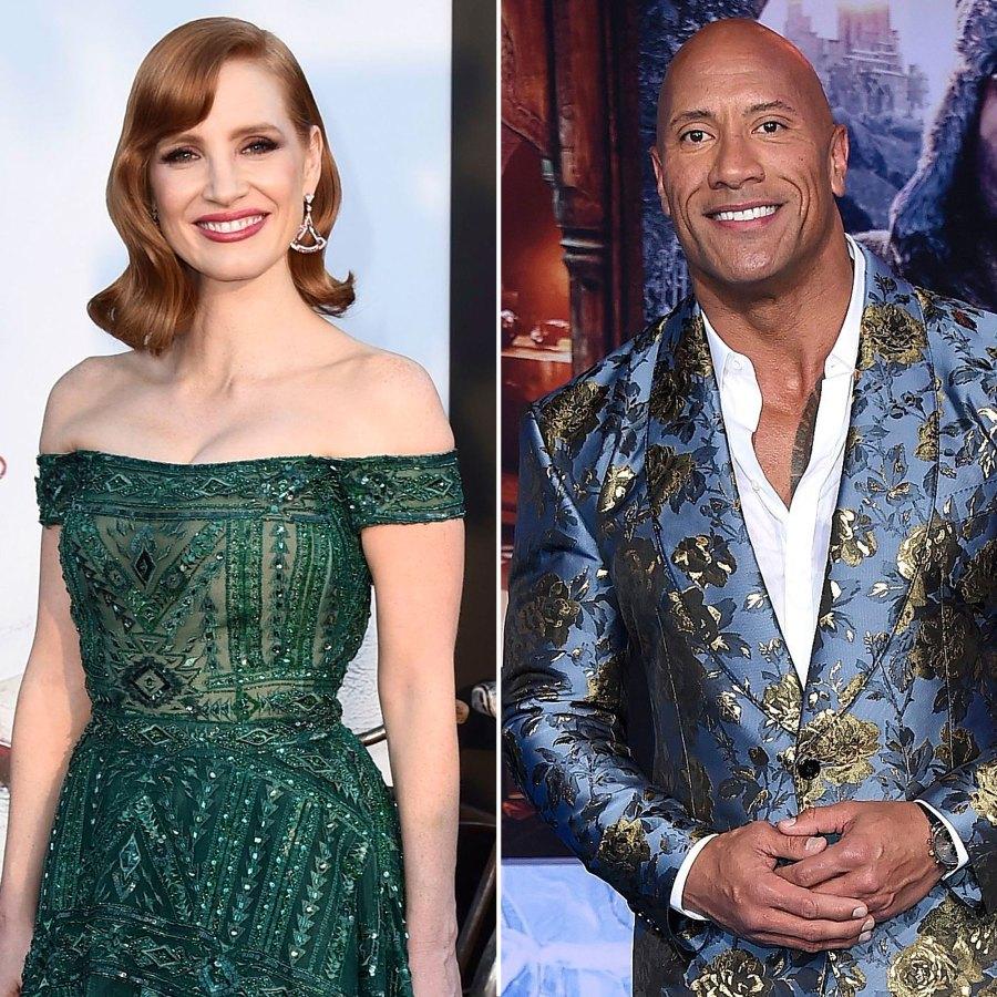 Jessica Chastain, Dwayne Johnson, More Stars Making Quarantine Cocktails