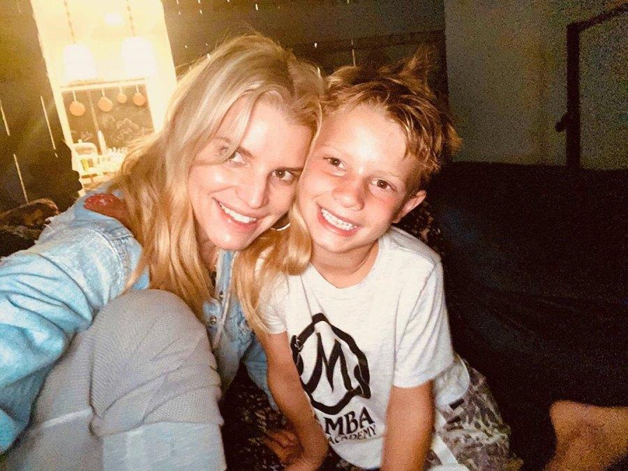 Jessica Simpson Ace Johnson Look-Alike Kids