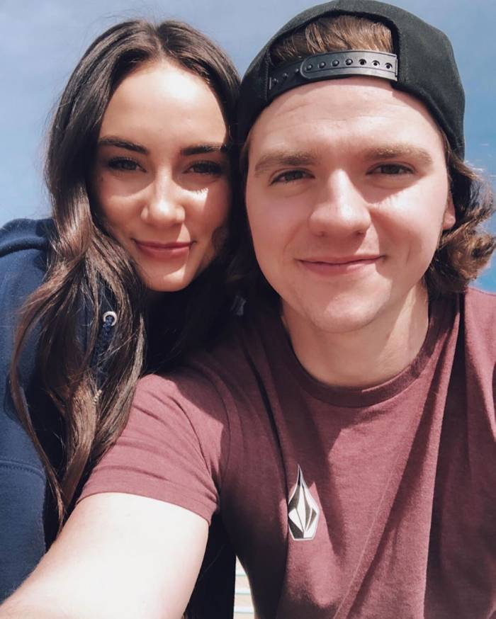 Joel Courtney and Mia Scholink Spent the Pandemic Wedding Planning