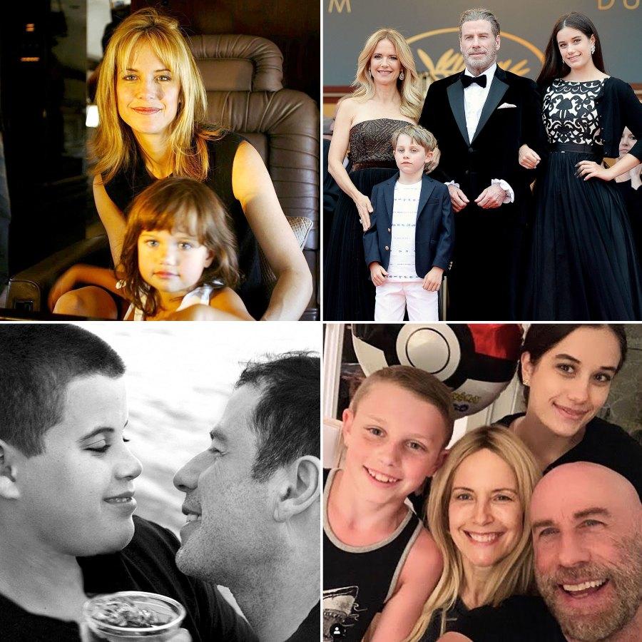 John Travolta Family Album