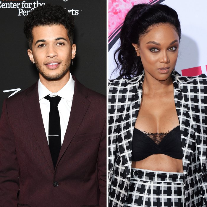 Jordan Fisher Says Casting Tyra Banks as DWTS Host Is Odd
