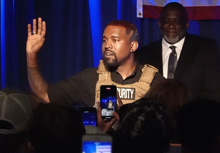 Kanye West Claims Kim Kardashian Tried to Get a Doctor to Lock Me Up After Rally