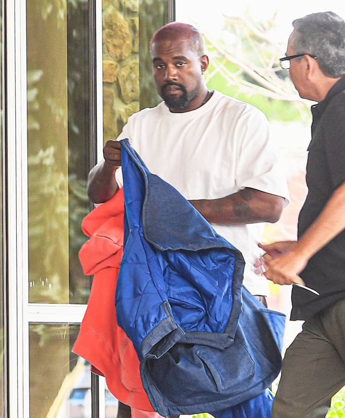 Kanye West Visits Hospital for Anxiety After Apologizing to Wife Kim Kardashian