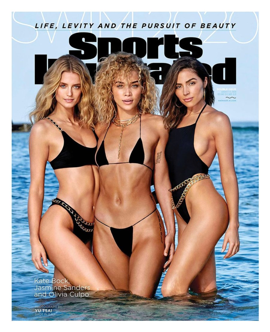 Kate Bock, Jasmine Sanders and Olivia Culpo Star Sports Illustrated Swimsuit Cover 2020