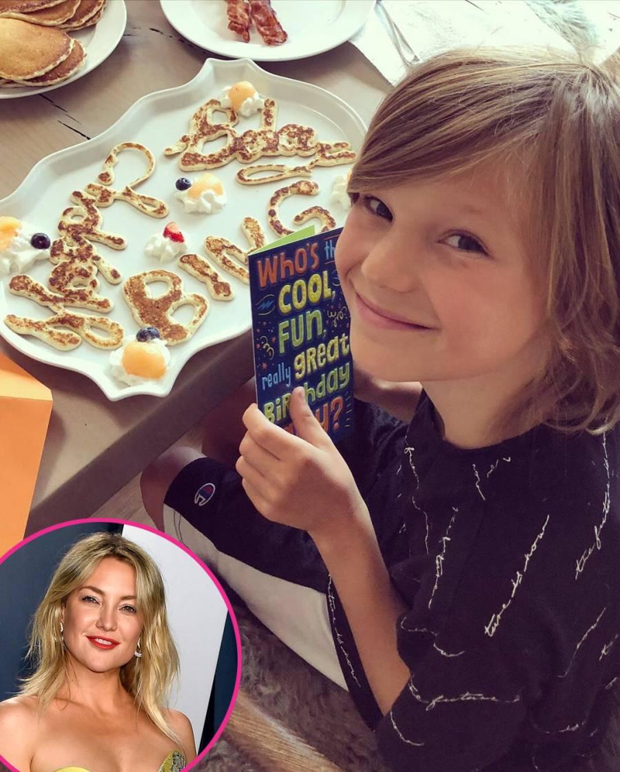 Bingham Kate Hudson More Parents Celebrate Kids Birthdays Amid Quarantine
