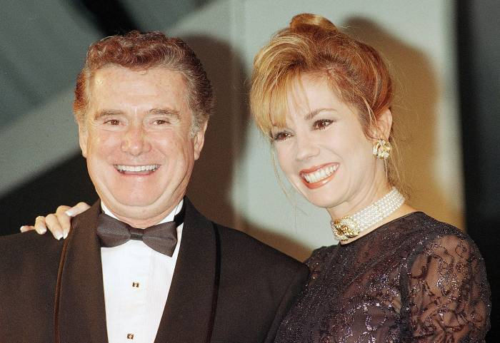 Regis Philbin and Kathie Lee Gifford in October 1992 Kathie Lee Speaks Out After Regis Philbin Death