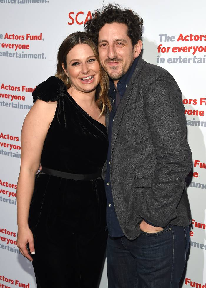 Katie Lowes Is Pregnant With Her and Husband Adam Shapiro's 2nd Child Following Previous Miscarriage