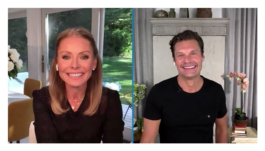 Kelly Ripa Jokes About Being on an All Carbohydrate Diet Ryan Seacrest