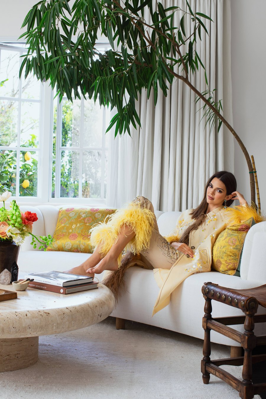 Kendall Jenner Architectural Digest house tour