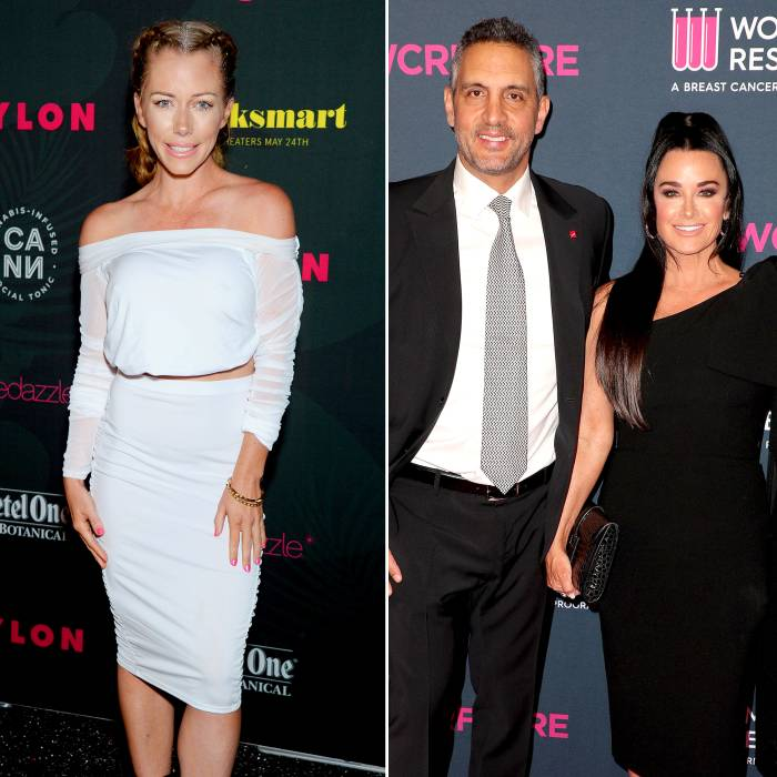 Kendra Wilkinson Joins Kyle Richards Husband Mauricio at The Agency