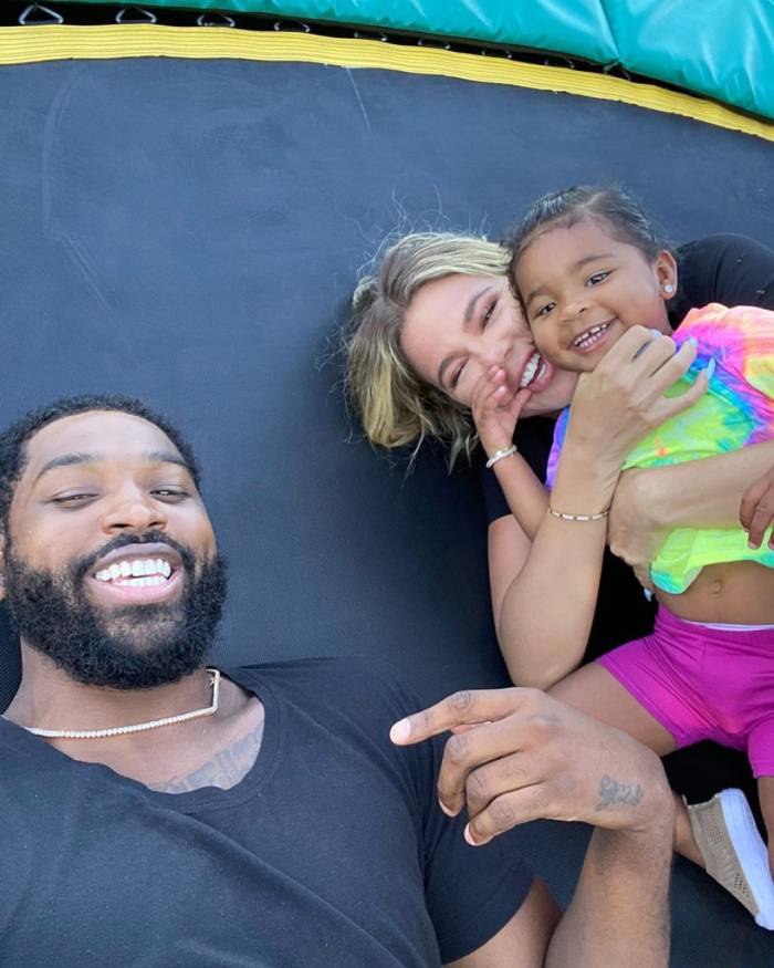 Khloe Kardashian I m in a Good Space Coparenting With Tristan Thompson