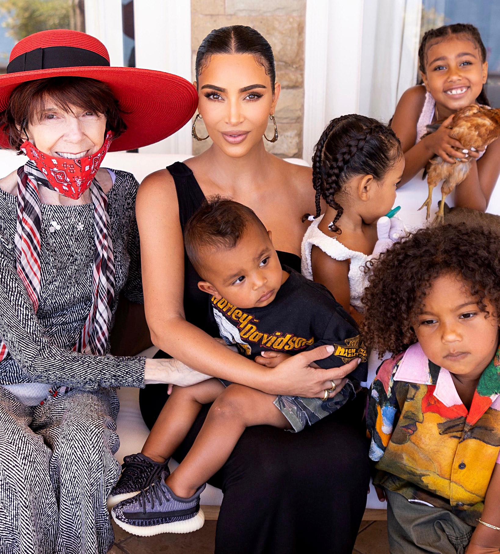 Kim Kardashian, Kanye Wests Sweetest Moments With Their Kids