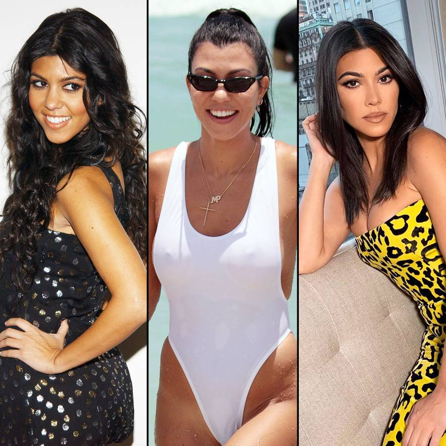 Kourtney Kardashian Body Evolution
