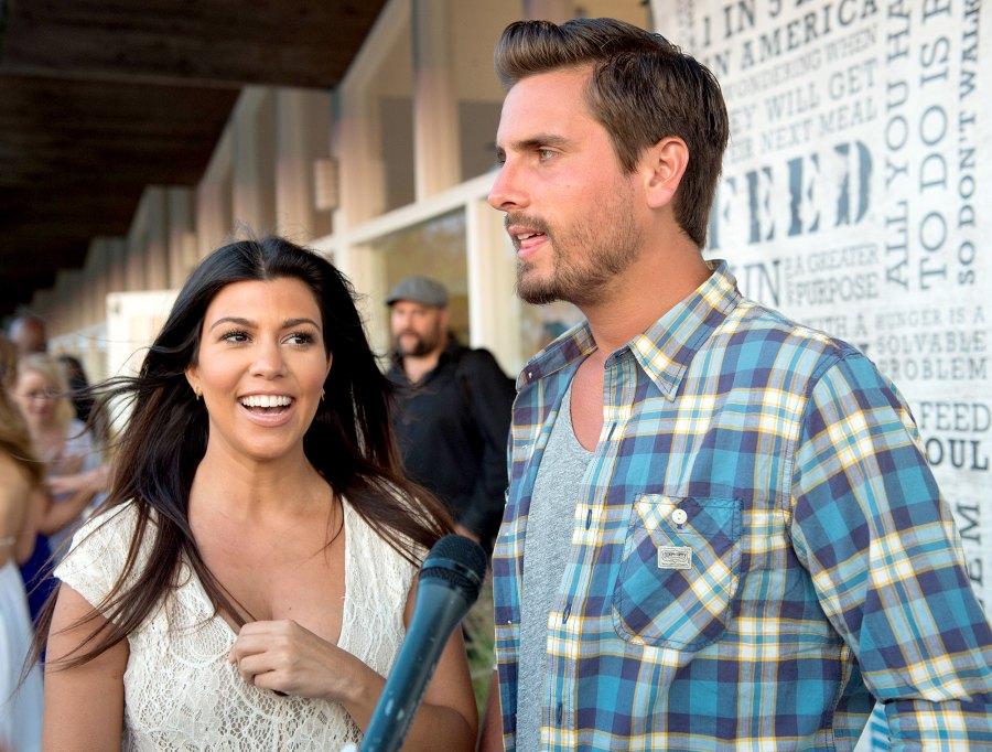 Kourtney Kardashian Scott Disick flirting on Instagram 2