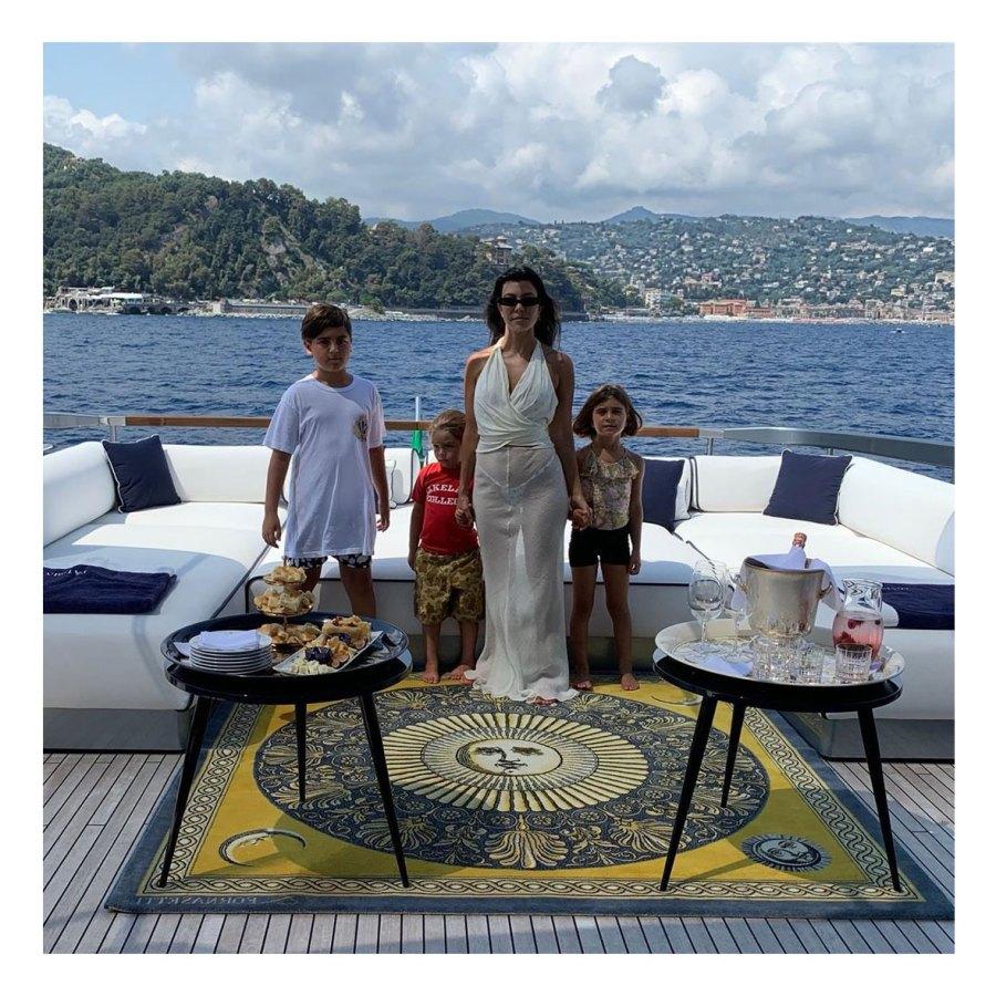 Kourtney Kardashian Stays Present With Three Kids Mason Penelope Reign