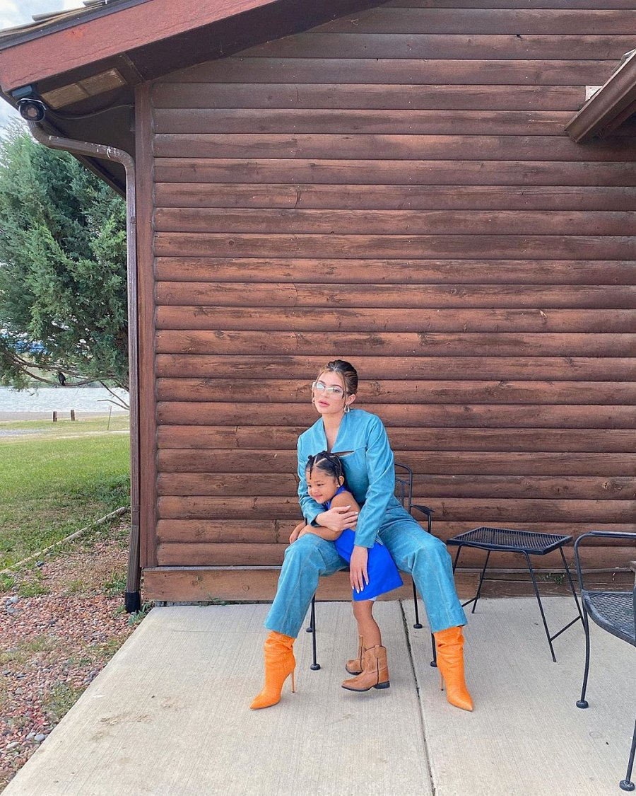 Kylie Jenner and Stormi in Wyoming Kylie Jenner Calls Herself a Mommy First Above Anything Else