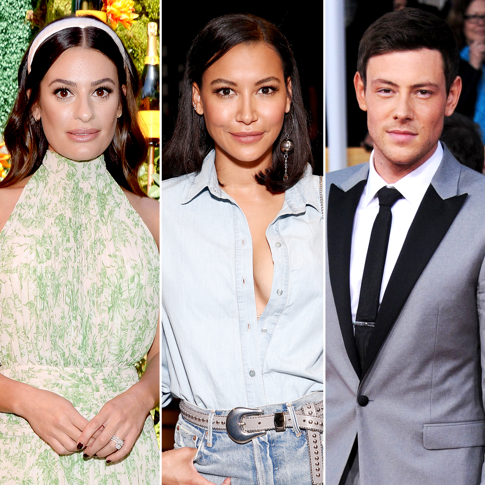 Lea Michele Mourns the Loss of Naya Rivera Cory Monteith