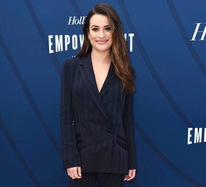 Lea Michele Shows Off Growing Baby Bump and Returns to Social Media Following Glee Scandal