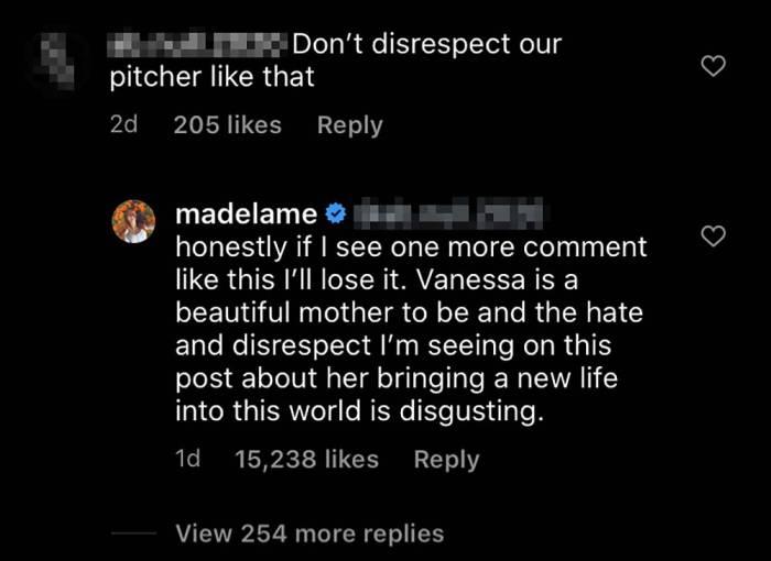 Madelaine Petsch Defends Vanessa Morgan From 'Disrespect' Amid Divorce
