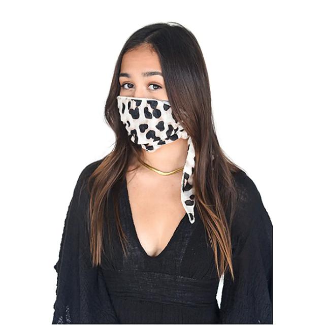 Mali + Lili Adult Four Layer Adult Mask Scarf