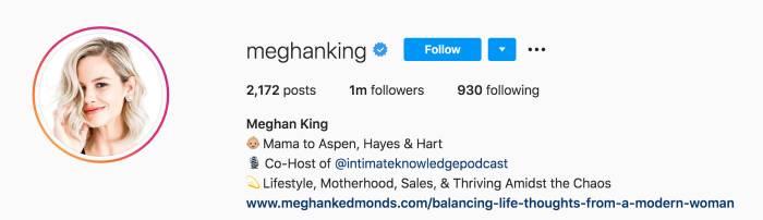 Meghan King Drops Edmonds From Her Instagram Handle Amid Jim Edmonds Divorce