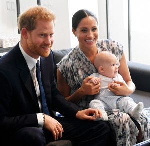Meghan Markle and Prince Harrys Son Archie Is Just About Walking