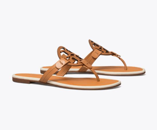 Miller Sandal Leather (Ambra/Tan)