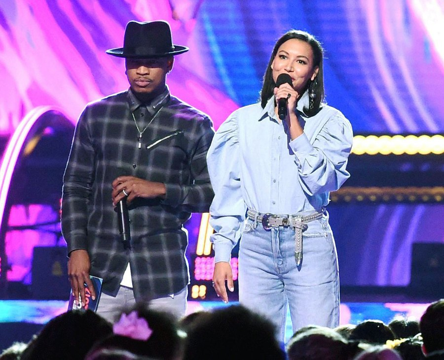 Ne-Yo and Naya Rivera present the award for choice dancer at the Teen Choice Awards Celebs Share Messages of Hope After Naya Rivera Goes Missing