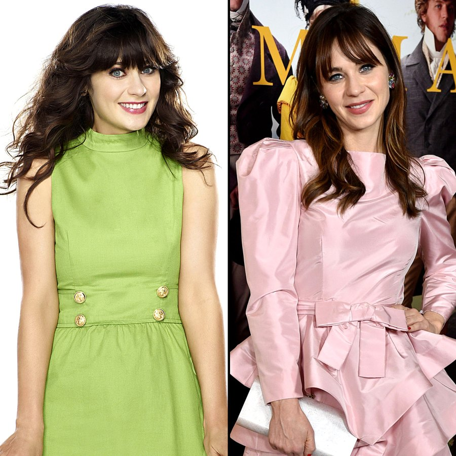 Zooey Deschanel New Girl Cast Where Are They Now