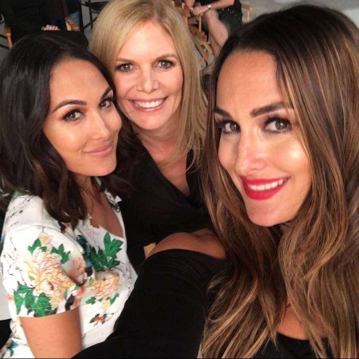 Nikki Bella, Brie Bella and Kathy Laurinaitis Brain Surgery