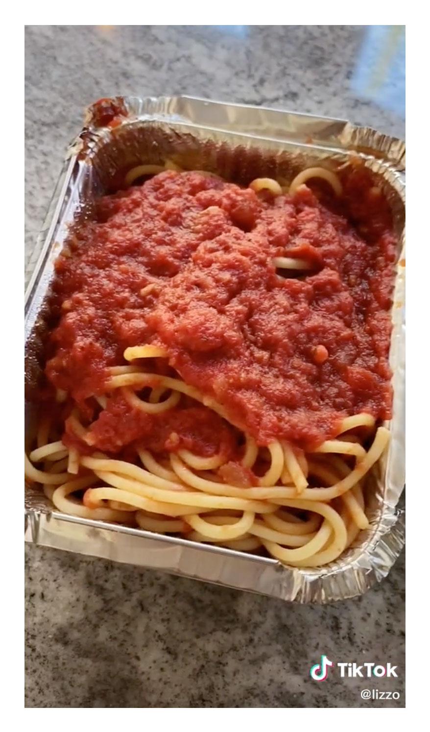 Noodles Lizzo Reveals More of Her Favorite Vegan Eats TikTok