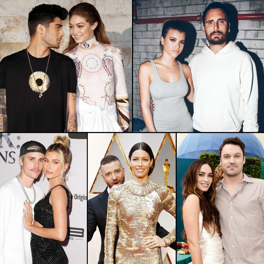 On-Again Off-Again Celebrity Couples