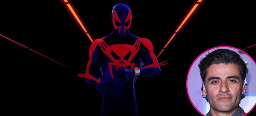 Oscar Isaac spiderman