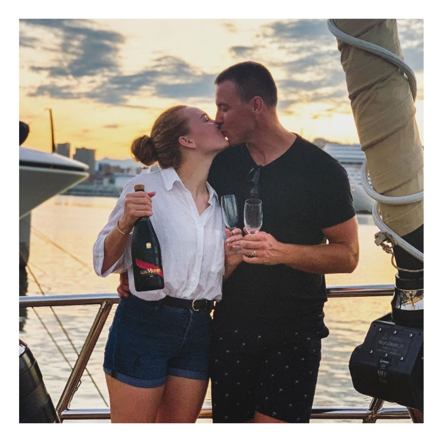Paget Berry and Ciara Duggan Engagement Instagram