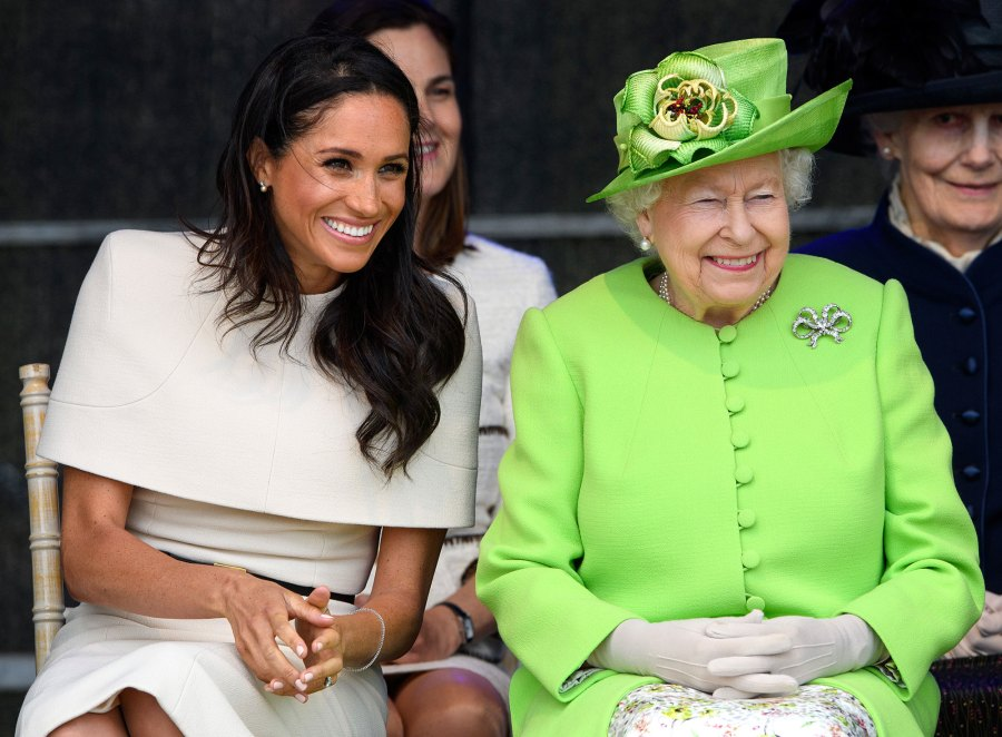 Palace Queen Elizabeth II Finding Freedom Book Revelations About Prince Harry Meghan Markle