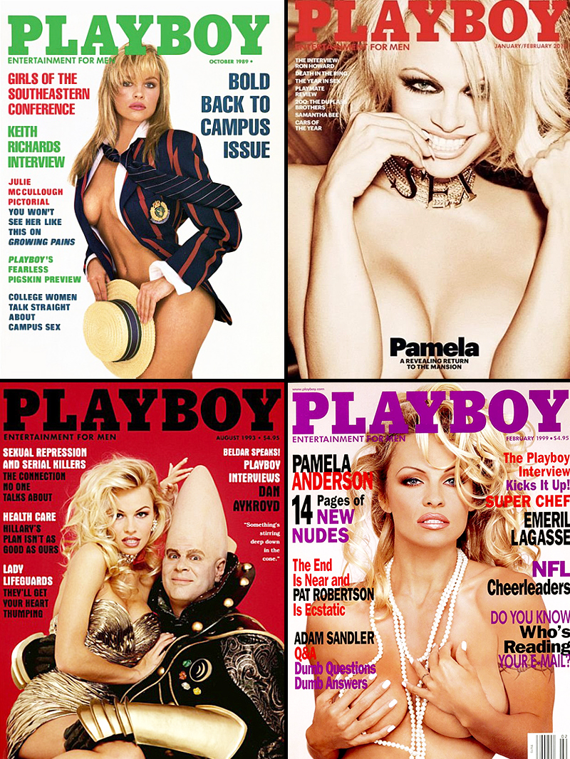 Pamela Anderson Playboy Covers