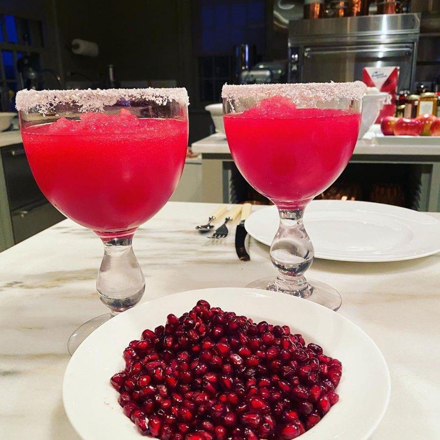 Pomegranate Martha-ritas Martha Stewart Instagram Celebrity-Approved Summer Cocktail Recipes