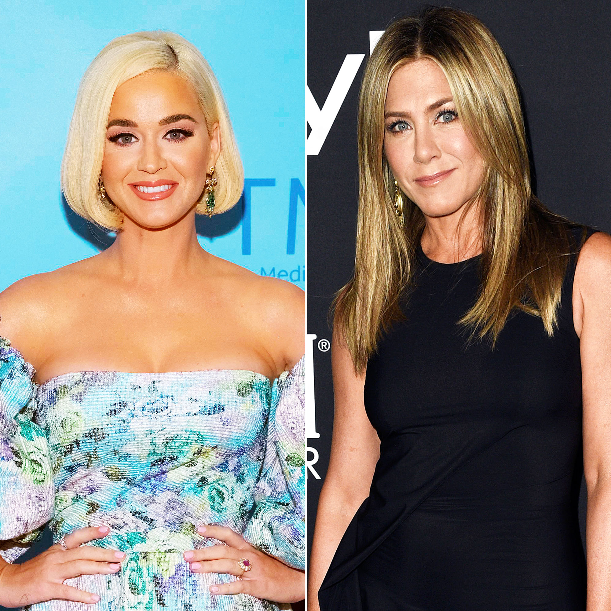 Pregnant Katy Perry Denies Naming Jennifer Aniston Godmother of Her and Orlando Bloom Baby