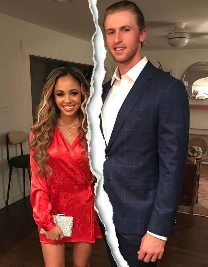 Pregnant Vanessa Morgan Michael Kopech Split After 5 Months Marriage