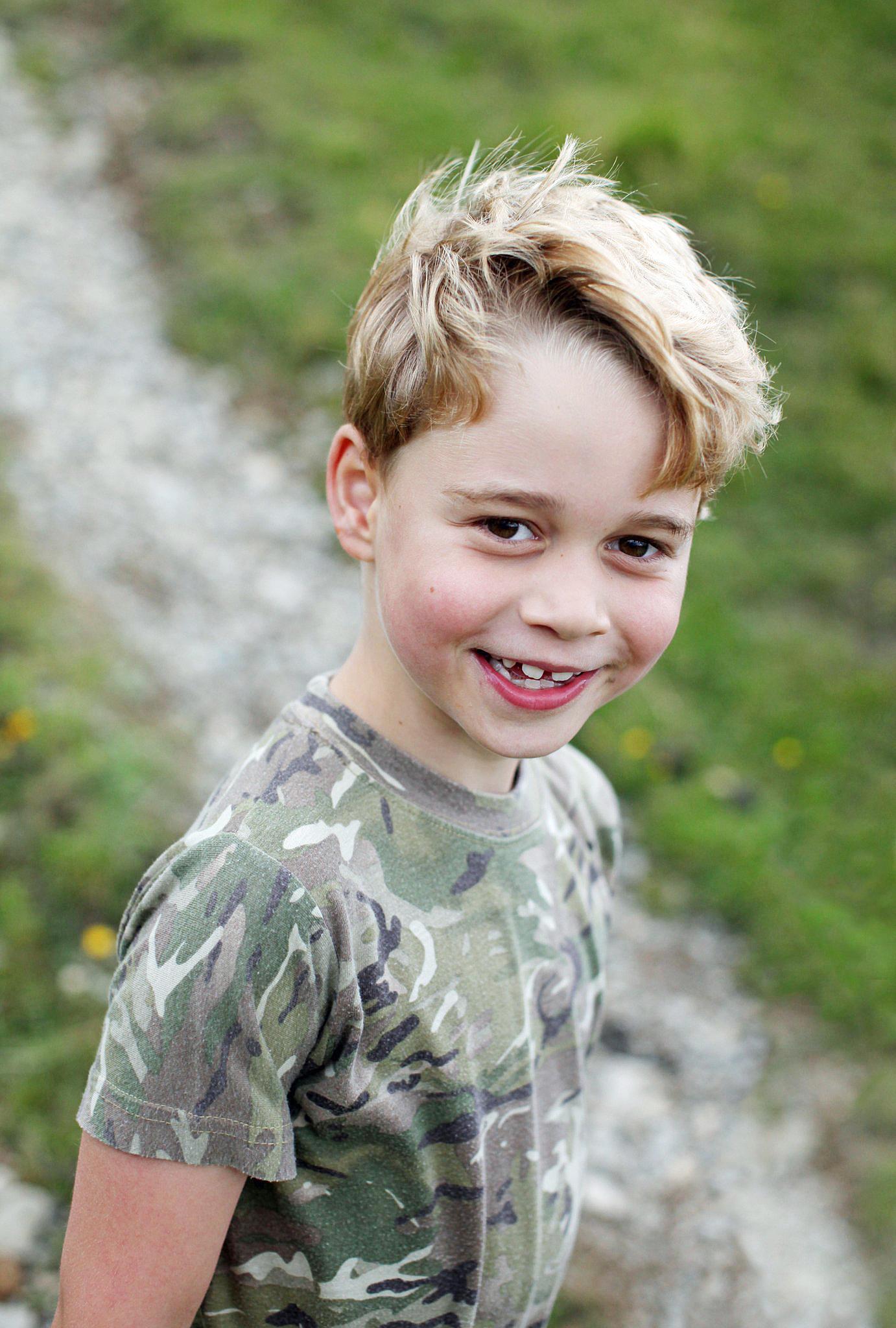 Prince George Celebrates 7th Birthday