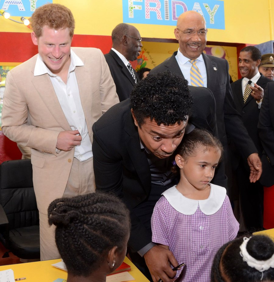 Prince Harry Once Sang Shaggy to Him When They First Met Children Hospital Bustamante