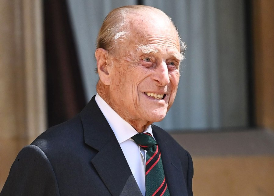 Prince Philip Makes Rare Appearance for Special Military Ceremony at Windsor Castle