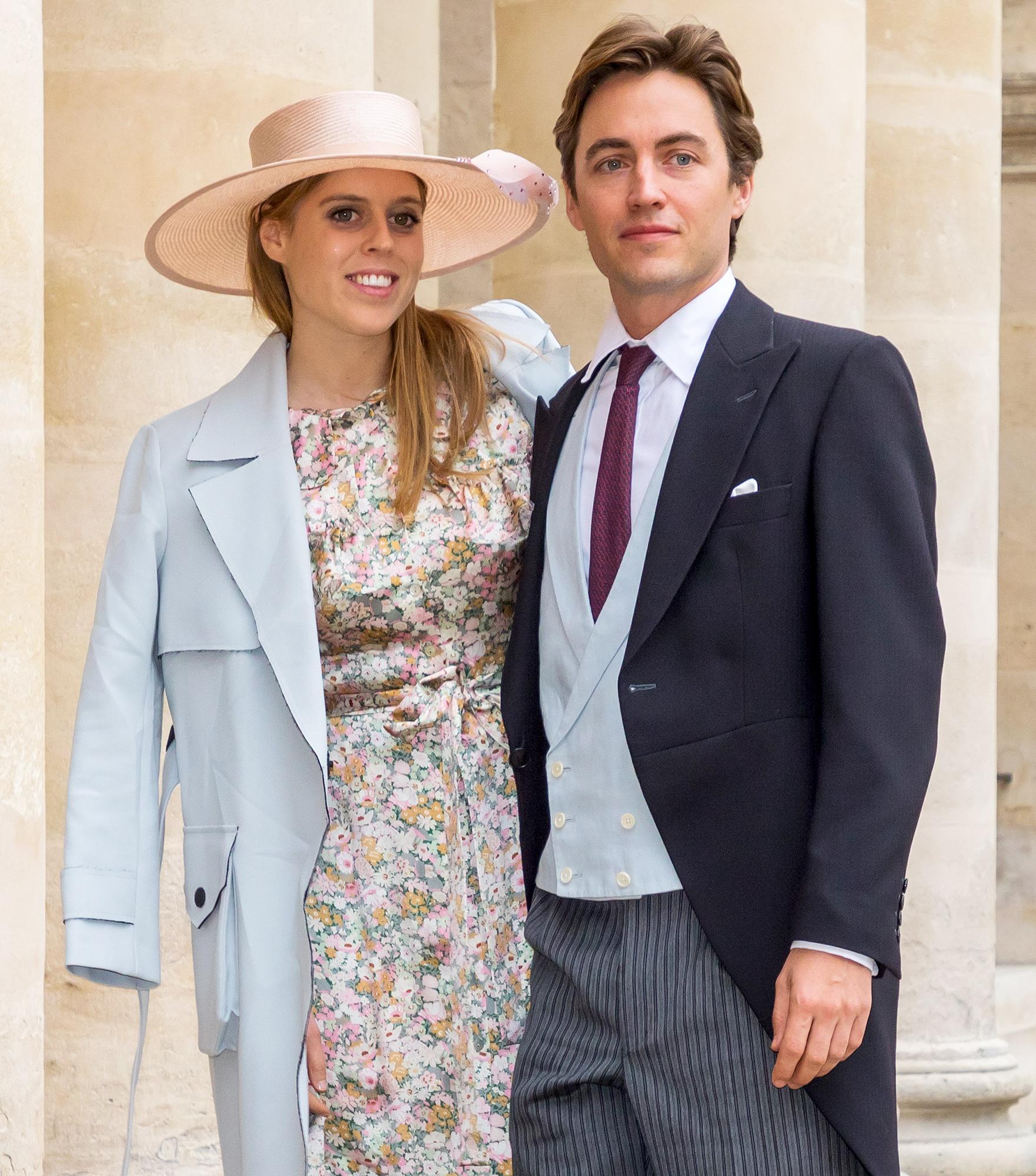 Princess Beatrice Shares 1st Photo From Her Secret Wedding to Edoardo Mapelli Mozzi