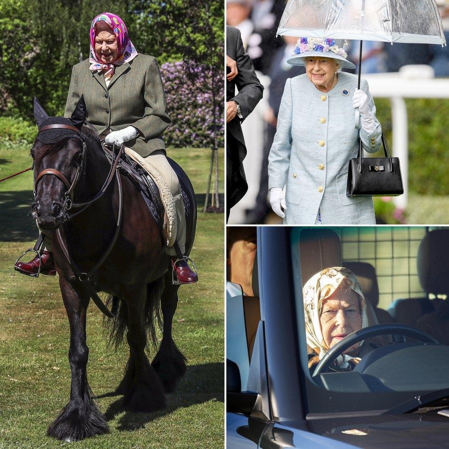 Queen Elizabeth II just like us