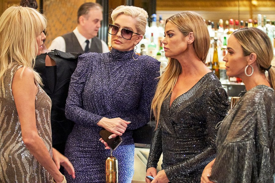 RHOBH The Real Housewives of Beverly Hills Dramatic Reunion