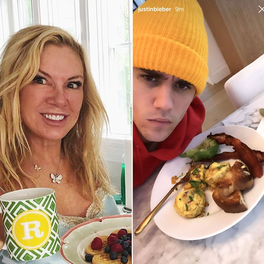 Ramona Singer and Justin Bieber What Stars Eat For Breakfast