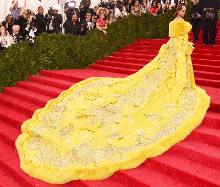 Rihanna Worried She'd Look Like 'A Clown' in Her 2015 Met Gala Dress