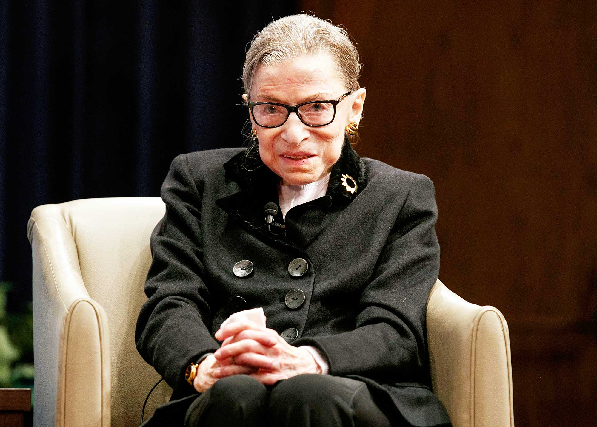 Ruth Bader Ginsberg attends Georgetown Law second annual Ruth Bader Ginsburg Lecture Ruth Bader Ginsburg Cancer Has Returned But Says It Wont Affect Her Supreme Court Seat